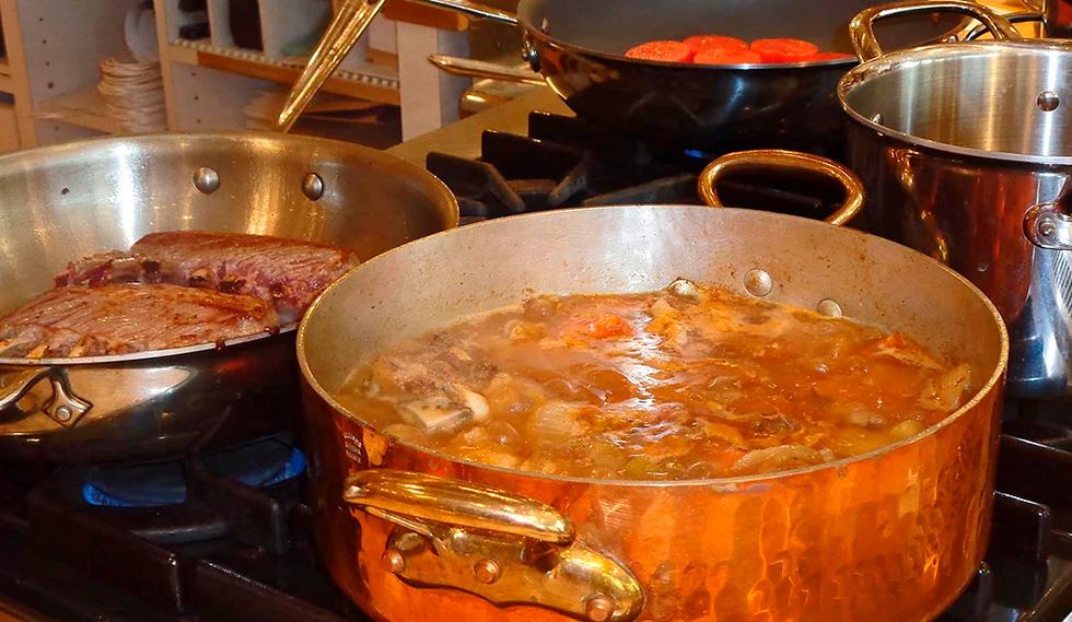 Juntando quem sabe cozinhar com quem gosta de comer bem!